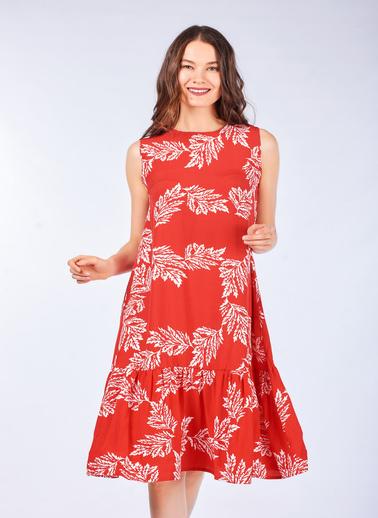 Coral Elbise Kırmızı
